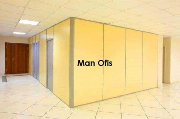 Çağrı İnşaat Mimarlık Dolu Ofis Bölme ( Tamamı ahşap ofis bölme ) 3