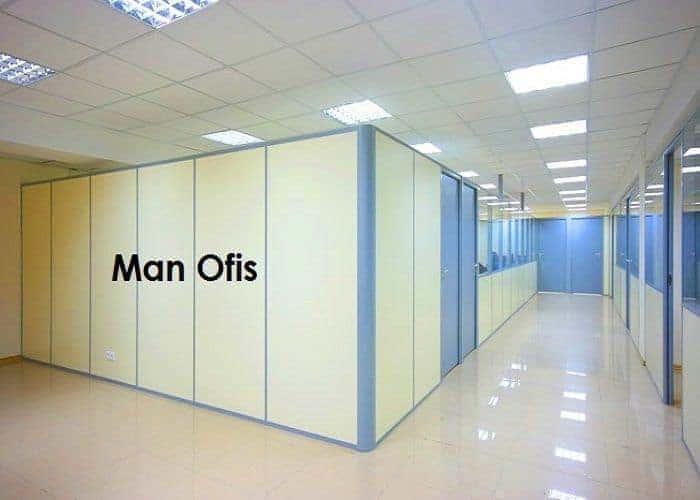 Man Ofis F200 Dolu Bölme Panel