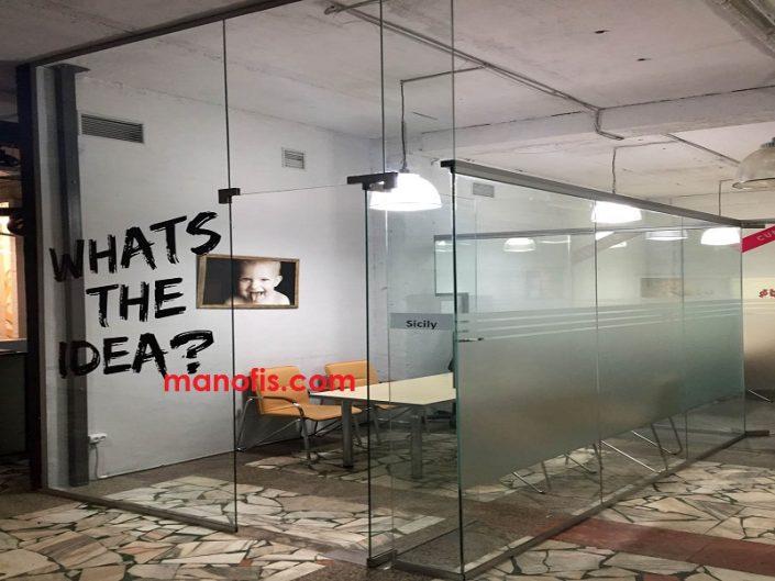 man ofis cam bölme fiyatları