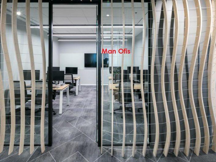 plus wall ofis bölme camı