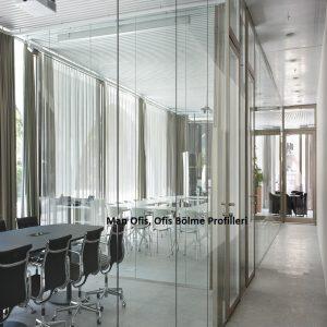 F700 Ofis Bölme Profilleri