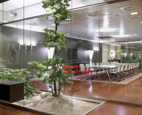 What is Aluminum Office Partition Systems