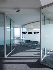 glass wall partition models