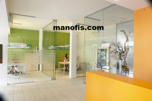 How to make glass office partition
