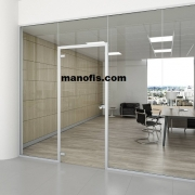 office partition door installation
